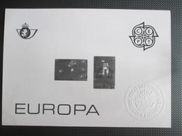 2323/24 - Europa 1989 -  ZW- Blaadje - Kwot € 22.5 - Black-and-white Panes