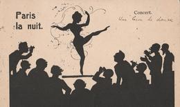 3 Cartoline - Postcard /2 Non  Viaggiate 1 Viaggiata - Paris La Nuit. - Humour
