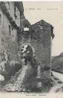 81, Tarn, PENNE, Ancienne Porte, Scan Recto Verso - Andere Gemeenten