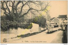 78. TRIEL . La Rue Cadot . - Triel Sur Seine