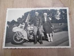 Fotokaart Motard Harley Davidson - Fotos