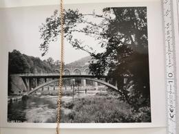 Photo Original 1951, Coques-Herbeumont, Pont Sur La Semois - Herbeumont