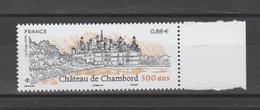 FRANCE / 2019 / Y&T N° ?2019/06/03 ** : Château De Chambord BdF D - Gomme D'origine Intacte - France