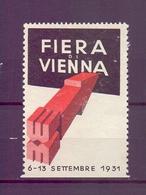 CINDERELLA ERINNOFILIA FIERA DI VIENNA 1931 (GIUGN1900B17) - Erinnofilia