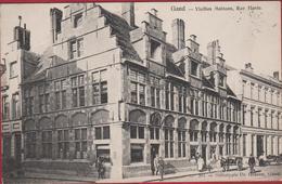 Gent Gand Vieilles Maisons Rue Haute Hoogstraat Helliotypie De Graeve 1907 - Gent