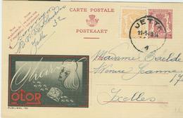 Publibel Obl. N° 761-OLOR, C65+25 - 1949 - JETTE - Interi Postali