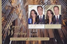 "Australia 2011 ""Royal Wedding"" Sheetlet Used - Used Stamps"