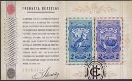 "Australia 2011 ""Colonial Heritage"" M/S Used - 2010-... Elizabeth II"