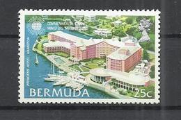 BERMUDA 1980 - COMMONWEALTH FINABCE MINISTERS MEETING - PRINCESS HOTEL - MNH MINT NEUF NUEVO - Bermuda
