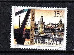 Jugoslavia - 1992. Expo '92 - Sevilla. Vista Di Siviglia. View Of Seville. MNH - Geografia
