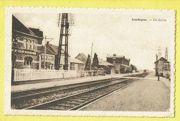 * Landegem (Nevele - Oost Vlaanderen) * (E. Beernaert Lokeren) De Statie, Bahnhof, Railway Station, Gare, Unique, TOP - Nevele