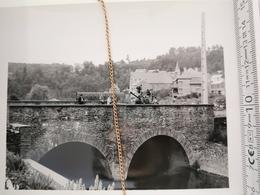 Photo Original 1951, Houffalize Pont Du Moulin - Houffalize