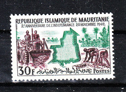 Mauritania   - 1962. Trattore E Semina. Tractor And Sowing. MNH - Agricoltura