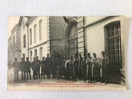 BAR Sur AUBE Ville Occupée Militairement Le 13 Avril 1912 - Bar-sur-Aube
