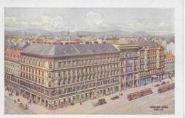 AK 0250  Wien - Kaufhaus A. Herzmansky / Künstlerkarte V. Weeser-Krell Ca. Um 1920 - Wien Mitte