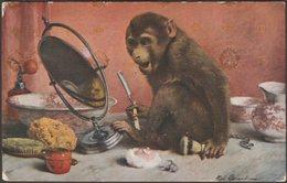 René Legrand - Un Coup De Rasoir, 1922 - Salon De Paris Lapina CPA - Paintings