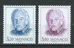 MONACO 1990 . N°s 1722 Et 1723 . Neufs  ** (MNH) - Monaco