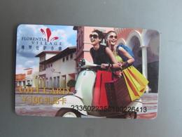 Florentia Village  Gift Card,100Y Facevalue - Cartes Cadeaux