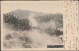 雲仙岳 - Mount Unzen, Japan, 1905 - Postcard - Japan