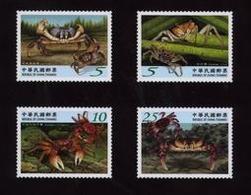 2010 Taiwan Crabs Stamps Fauna Crab Coastline Marine Life - Marine Life