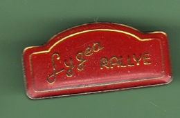 RALLYE LYGEA (50) *** 1010 - Automobile - F1