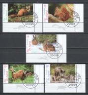Germany Bund 2006 Mi 2539-2543 Canceled ANIMALS - [7] Federal Republic