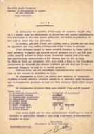 1ère Armée Française - Service Des Prisonniers De Guerre Et Des Déportés - Comité Polonais Camp Mackensen 1945 - Documents