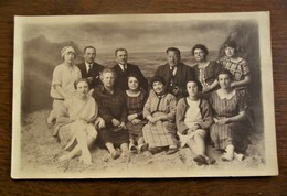 Antieke FOTO -- POSTKAART 1925          O . HOUFART -- LAUREYS  BLANKENBERGHE - Fotografie