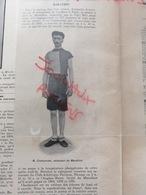 1902 MARATHON - CONFLANS = PARIS - SIXIÈME ÉDITION - ORGANISÉ PAR LE JOURNAL VÉLO - CHARBONNEL - Books, Magazines, Comics