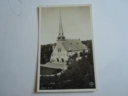 KYRKA  PANORAMA  Cartolina Postcard - Svezia