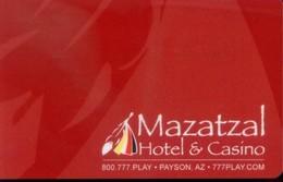 USA Hotel Key, Mazatzal Hotel & Casino  (1pcs) - Verzamelingen