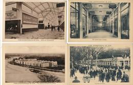 LOT DE 4 CARTES DE LA FOIRE INTERNATIONALE DE LYON  ( Recto Verso ) - Lyon