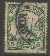 Kiauchau - 1901 Kaiser's Yacht 5pf Used    Sc 11 - Colony: Kiauchau
