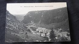 CPA 39 Morez Du Jura - Morez Le Haut Et La Roche Du Béchet - Morez