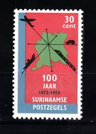 Train, Eisenbahn, Locomotive, Railway: Suriname 1973 Mi Nr 665 Postfris - Treinen