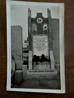 Oude Foto Van Grafsteen Van Paulina Catharina SCHRAM Overl . 1929  Antwerpen - Overlijden