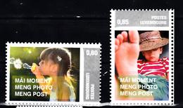 Luxemburg 2011 Mi Nr 1912 + 1913 , Postfris Zelfklevend, Kinderen, Children - Luxemburg