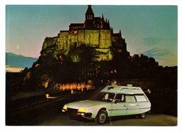 CITROEN CX Ambulance - Ets B. Collet - Carrossier Constructeur à Argentan (61) (Vue Du Mont St Michel) - Voitures De Tourisme