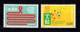 Luxemburg 2011 Mi Nr 1914 + 1915 , Postfris - Luxemburg