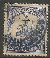 Kiauchau - 1901 Kaiser's Yacht 20pf Used    Sc 13 - Colony: Kiauchau