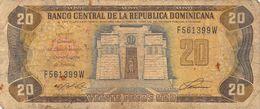 20 Peso Dom.Rep. 1992 VG/G (IV) - Dominikanische Rep.