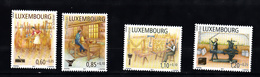 Luxemburg 2011 Mi Nr 1919 - 1922, Ambachtslieden, Postfris - Luxemburg