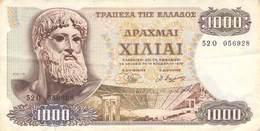 1000 Drachmeen Griechenland 1970 VF/F (III) - Greece