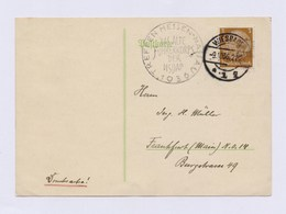 DR Postkarte St WIESBADEN + SoSt Das Alte Führerkorps Der NSDAP 1936 - Germany