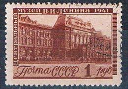 Russia 855 Used  Lenin Museum 1941 CV 17.00 (R0739) - Unclassified