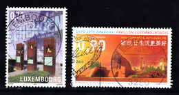 Luxemburg 2010 Mi Nr 1855 + 1856: - Gebruikt