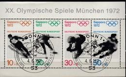 1972 SAPPORO - BRD - MiNr: 684-687 Block 6 - Winter 1972: Sapporo