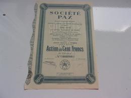 PAX Essences Aromatiques Naturelles,parfums (1920) - Actions & Titres