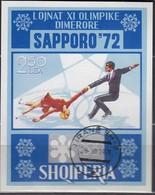 1972 SAPPORO - Albanien - MiNr: Block 44 - Winter 1972: Sapporo