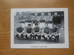 Foto Voetbalploeg  12 X 8,5 CmStandard Club Luik - Soccer